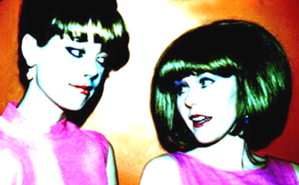 Cindy Wilson and Kate Pierson from the B-52's