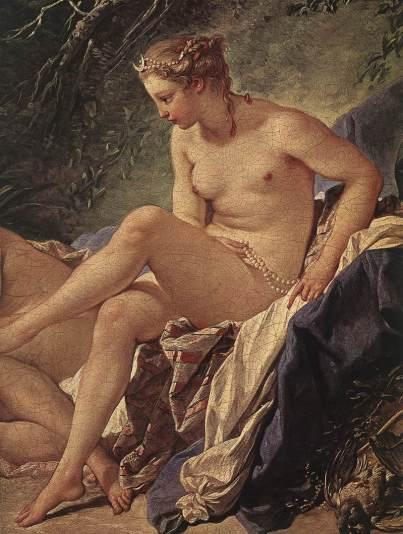 Francois Boucher Rococo detail