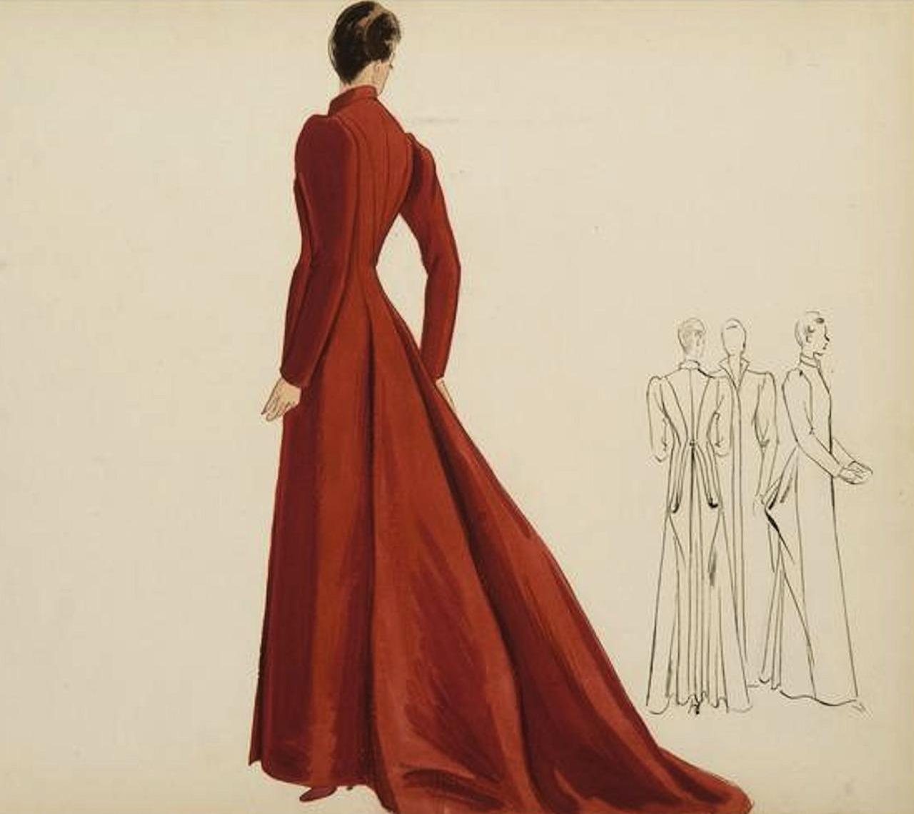 Elsa Schiaparelli haute couture designs 1939