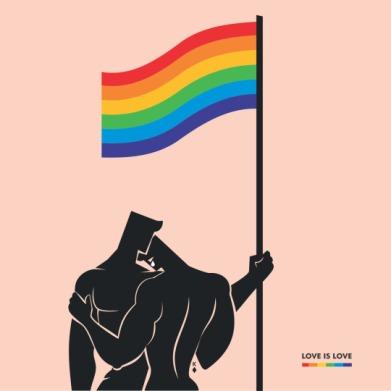 Gay love is love - Queer King of Diamonds