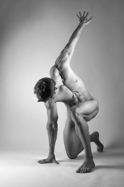 Nude Male Pose