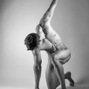 Male pose figure drawing