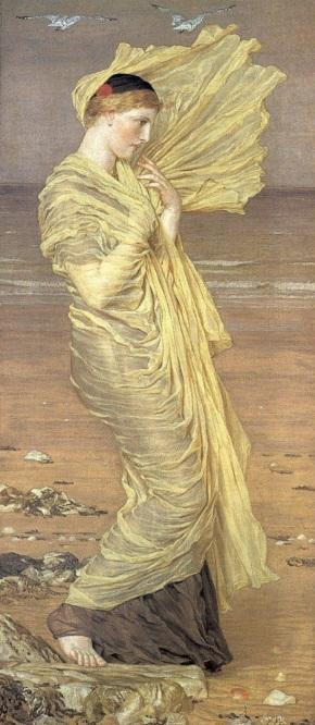 Seagulls - Albert Joseph Moore 1871
