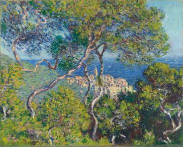 Bordighera Claude Monet 1884