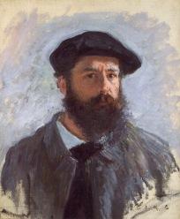 Self Portrait Claude Monet 1886