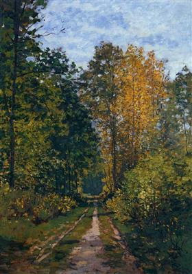 Wooded Path - Claude Monet 1865