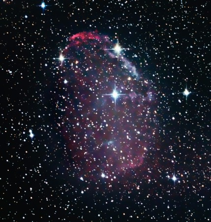 Crescent Nebula - Hamant Kumar