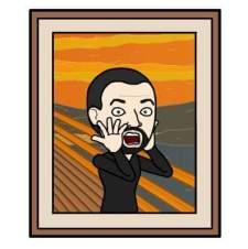 AHomo version of The Scream