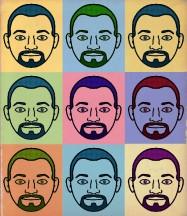AHomo Face Collage by AHomo