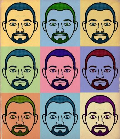 AHomo Bitmoji Face Collage