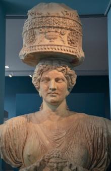 Caryatid from Eleusis - Greek
