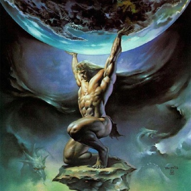Atlas Titan from Greek Mythology