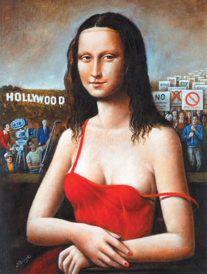 Mona Lisa Rafal Olbinski