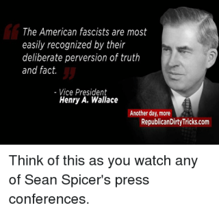 VP Henry Wallace on Facisim
