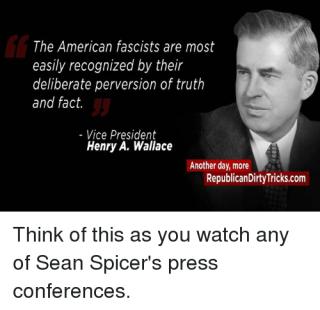 VP Henry Wallace on Facisim