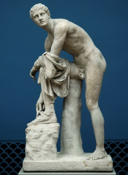 Sandal-Tying Hermes