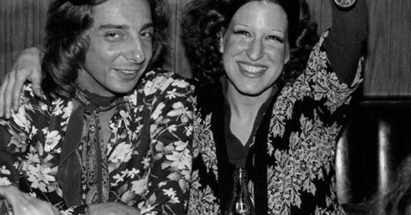 Barry Manilow and Bette Midler