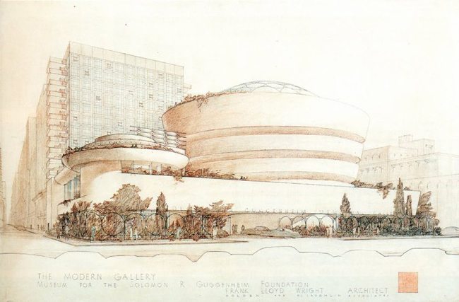 3-frank-lloyd-wright-guggenheim-drawings-architecture