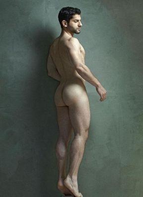 Nude Man Standing