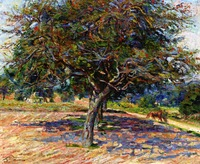armand_guillaumin-trees_at_ille-de-france__1878