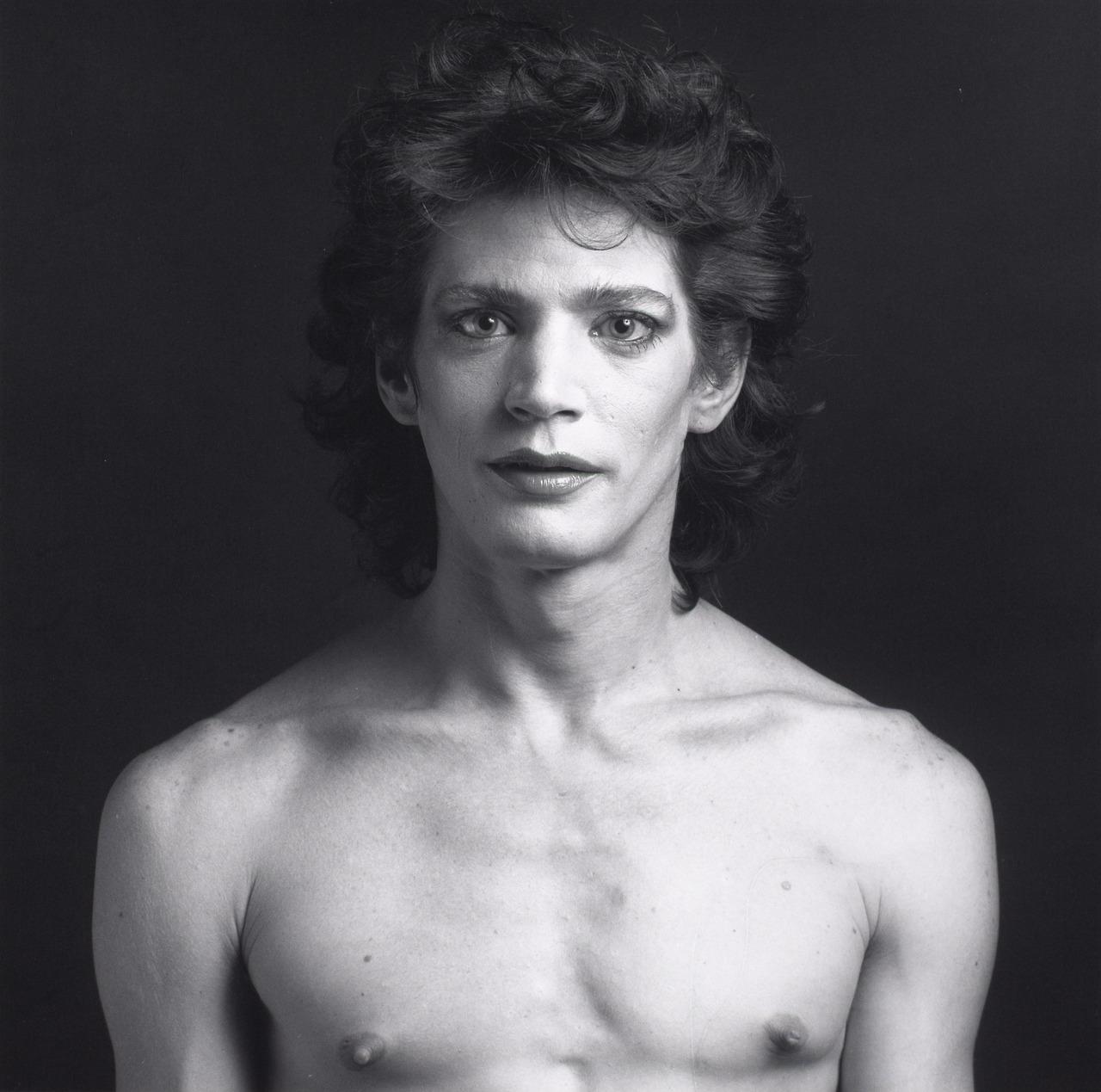 Self Portrait Robert Mapplethorpe