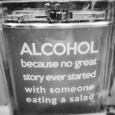 Alcohol Not Salad