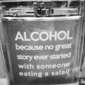 Alcohol Not Salad