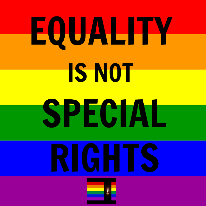 EqualityIsNotSpecialRights