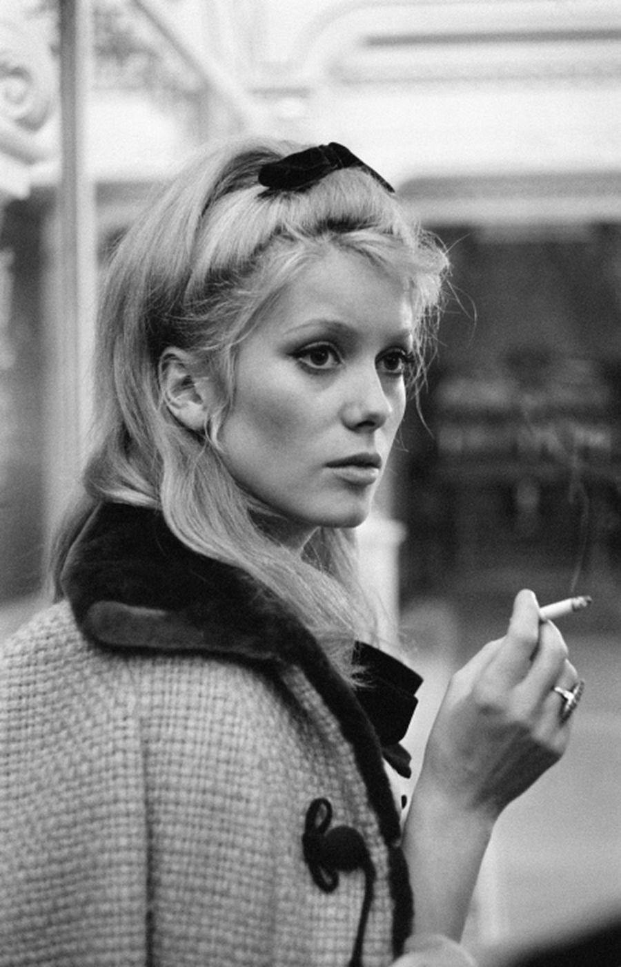 Actress Catherine Deneuve