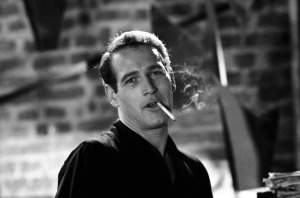 Paul Newman Smoking