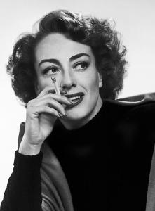 Joan Crawford Smoking
