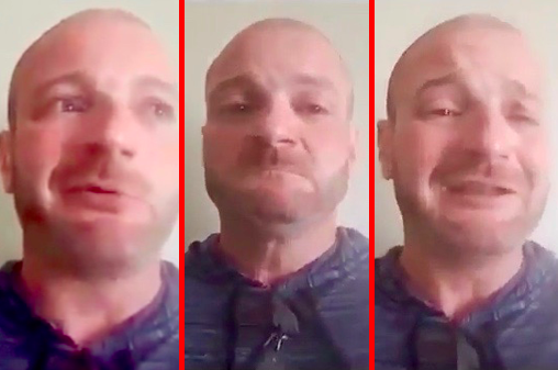 Gay-Hating Neo-Nazi Sobs Like a Baby After Learning He's Wanted For Arrest inCharlottesville