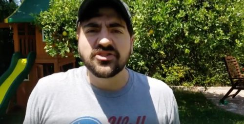 Liberal Redneck Completely Destroys the Cowards Behind the NaziRally