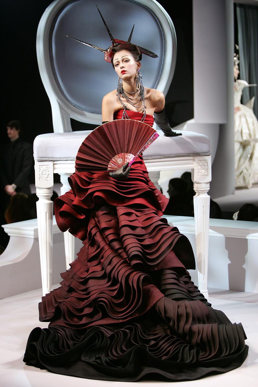 Christian Dior's Fashion Show Paris