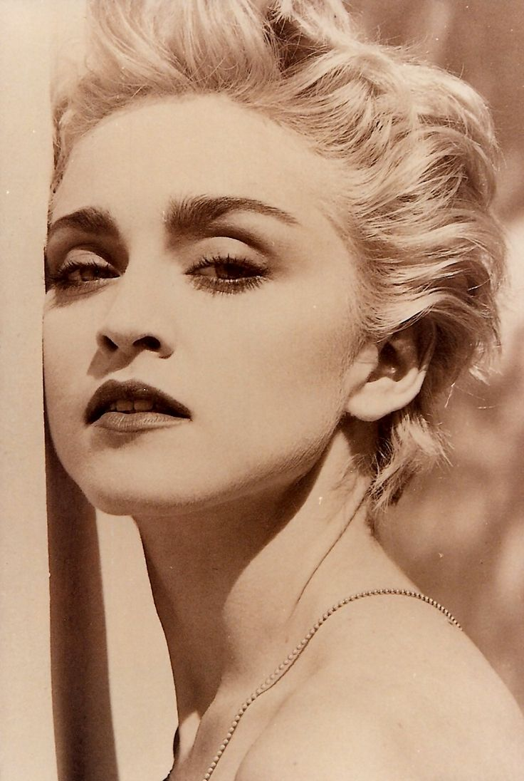 Madonna by Herb Ritts for True Blue 1987