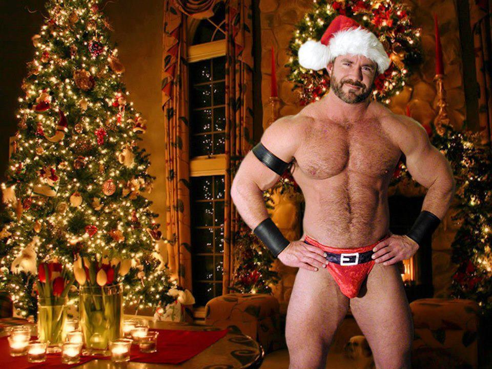 Gay Bear Christmas Santa