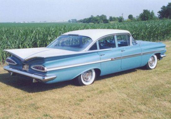 1959 Chevrolet Impala Four Door Sedan
