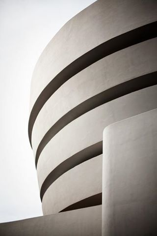 Guggenheim Museum - architect Frank Lloyd Wright 1959