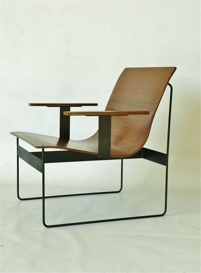 Gunter Renkel (Ger.)1959 minimalist REGO chair. merzbau - Home