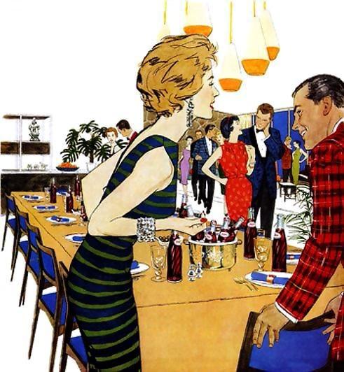 Pepsi-cola advertisement 1959