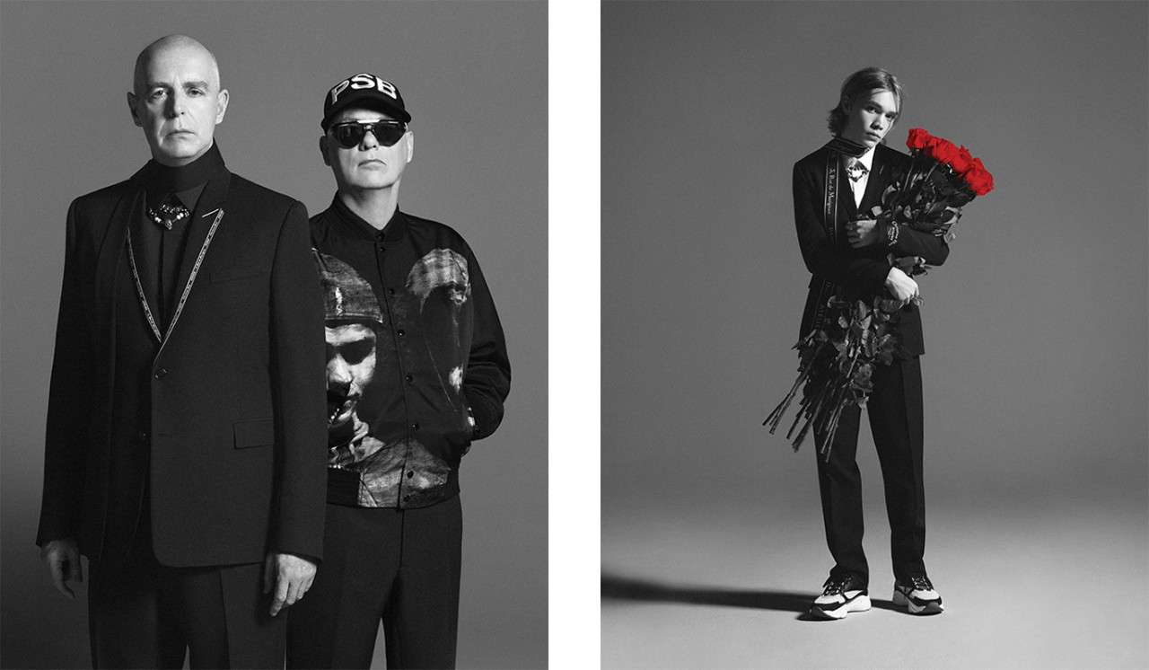 Pet Shop Boys Neil Tennant and Chris Lowe - Dior Homme Summer 2018