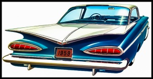 1959 Chevrolet Imperial Sport Coupe