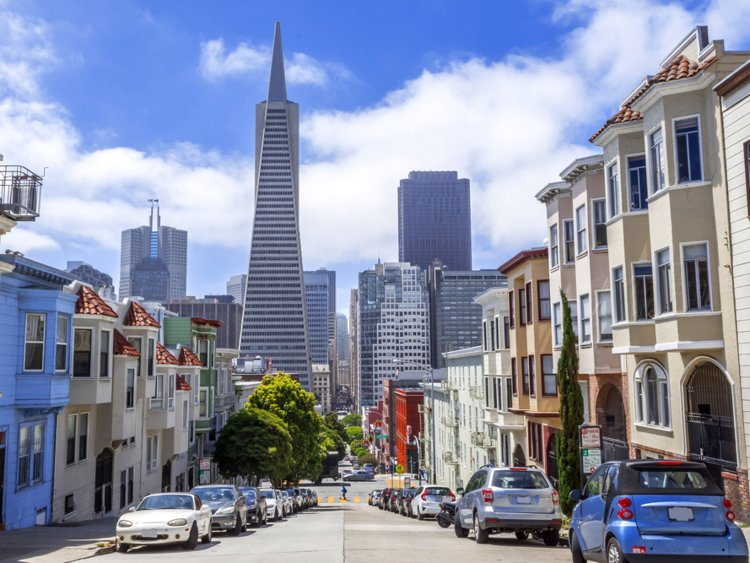 San Francisco, California randyandy/Shutterstock