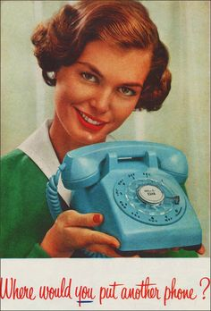 Bell Telephone 1959 Phone Advertisement