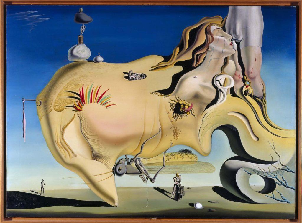 Salvador Dali, The Great Masturbator, 1929, Museo Nacional Centro de Arte Reina Sofía, Madrid