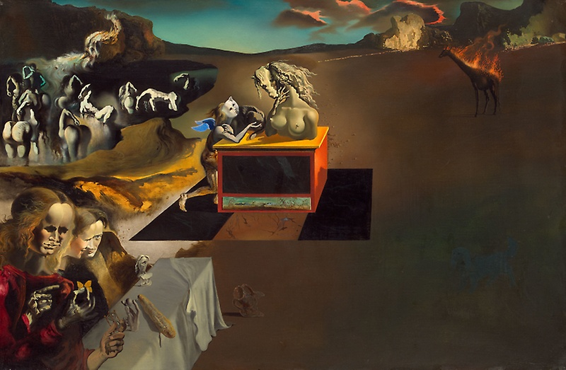 Salvador Dalí, Inventions of the Monsters, 1937, Art Institute of Chicago