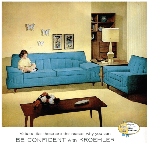 Advertisement for Kroehler Furniture 1959