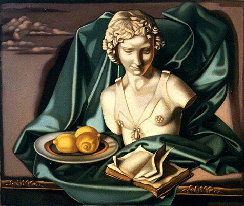Artist Tamara de Lempicka