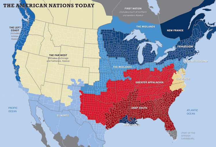 The American Nations - Colin Woodard