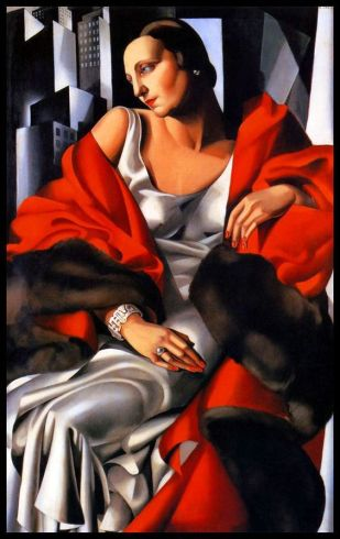 Madame Boucard  by Tamara de Lempicka